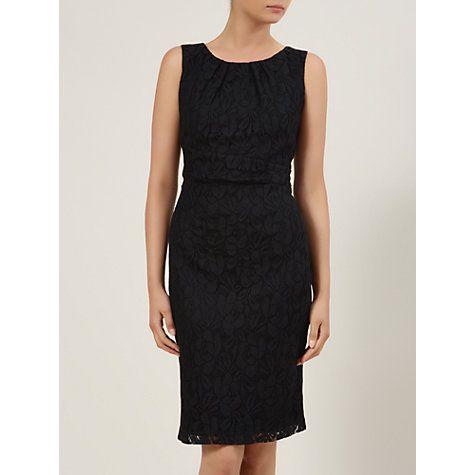 Buy Planet Lace Shift Dress, Black Online at johnlewis.com