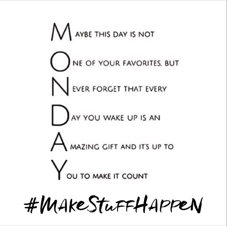 #mondaymotivation - let's begin with a grateful heart, determined spirit, a goal to serve others - that's how to #makestuffhappen