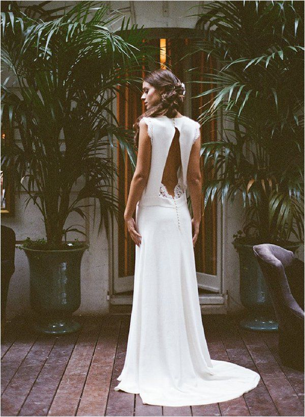 French wedding dress | Image by Gert Huygaert, Wedding dress by Elise Hameau, Styling by At First Blush and Co