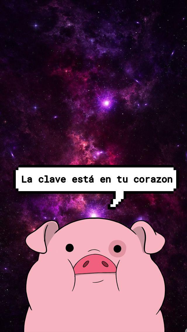 Gravity Falls Pig Wallpaper Wallpaper Para Bloqueo De Pantalla Cerdo De Gravity Fall