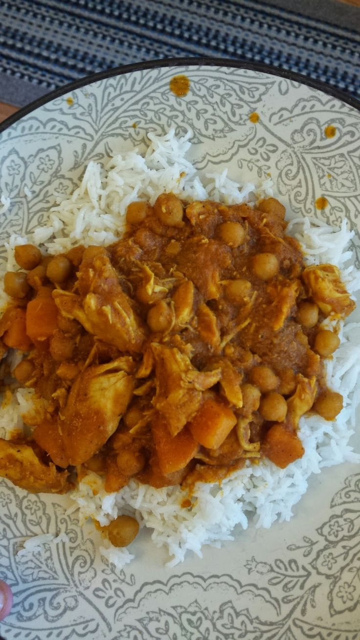 Chicken Curry in the SLOW COOKER!!!