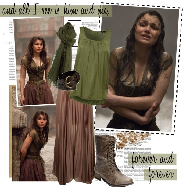 """Les Miserables's Eponine (film)"" by alittlebelle ❤ liked on Polyvore"