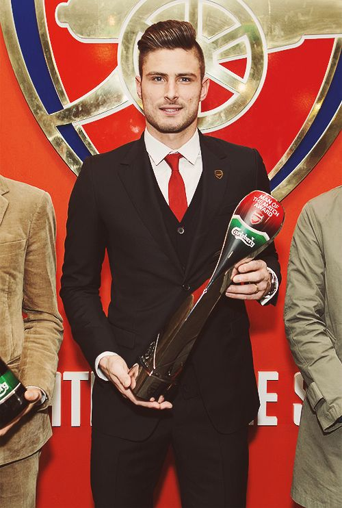 Olivier Giroud man of the match. Well done!