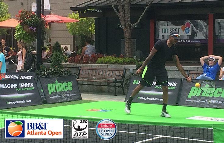 Kent Bazemore Continues Hawks' Tradition At BB&T Atlanta Open | Atlanta Hawks