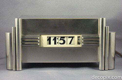 Art Deco Streamline Clock by: Kem Weber. @designerwallace