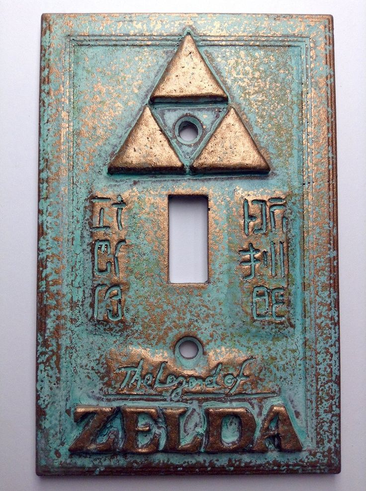 Legend of Zelda Light Switch Cover ................Um I'm so making one of these ... or like maybe a LOT more!