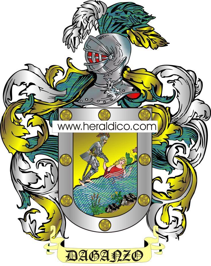 Por ahora, el escudo más bonito del mes de febrero, el de los Daganzo, podéis obtener el de vuestra familia en nuestra web www.heraldico.com
