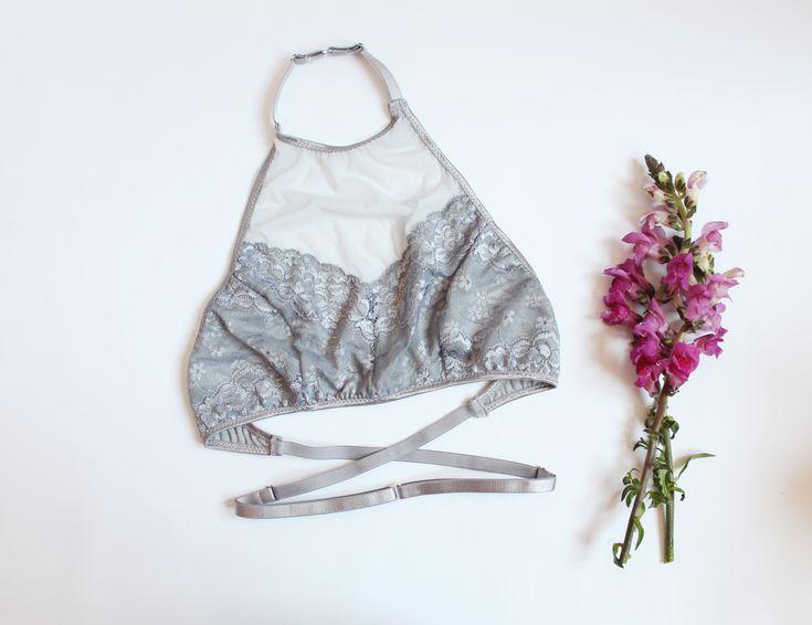 Amber Halter Bra - Lingerie Sewing Pattern! #lingeriesewing #diy #sewing…