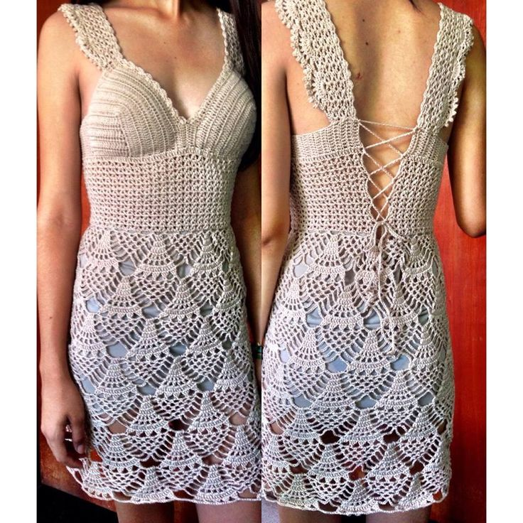... Crochet Apparels on Pinterest Crochet dresses, Crochet tops and