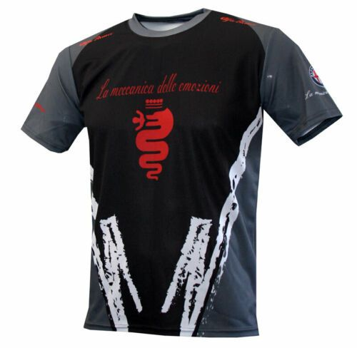 Details About Alfa Romeo T-shirt Maglietta Camiseta Giulia