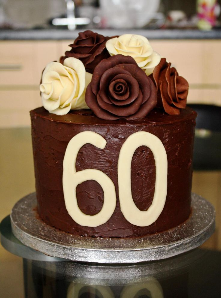 60th Birthday Cake Images : 60th Birthday Cakes: As Decorations ...