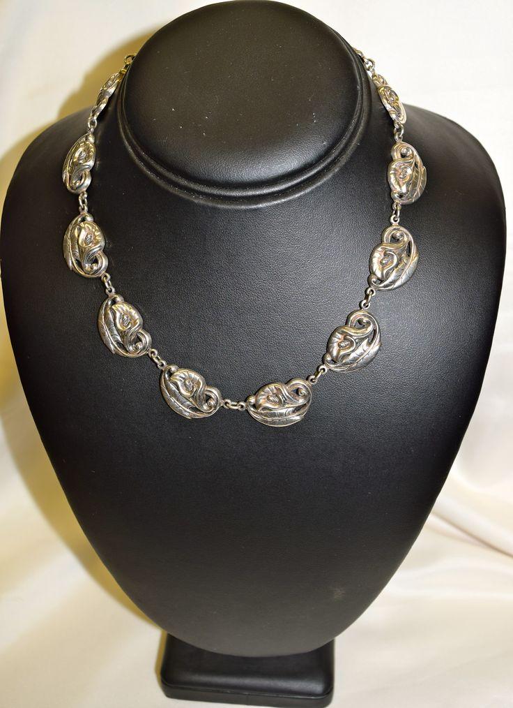 Vintage Danecrraft Silver Necklace
