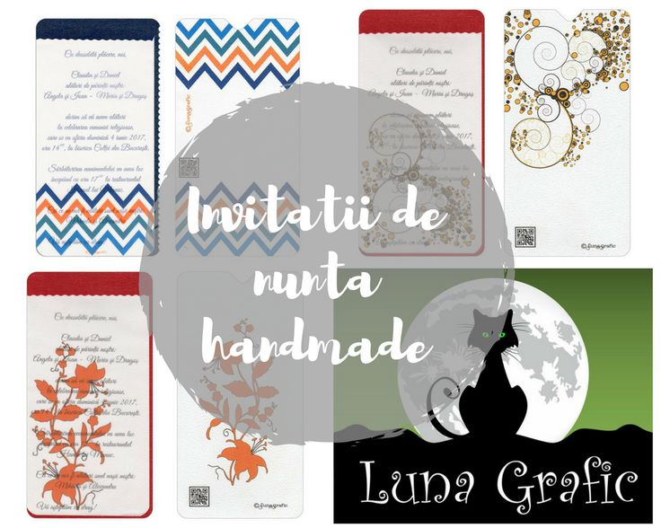 Wedding invitations by Luna Grafic
