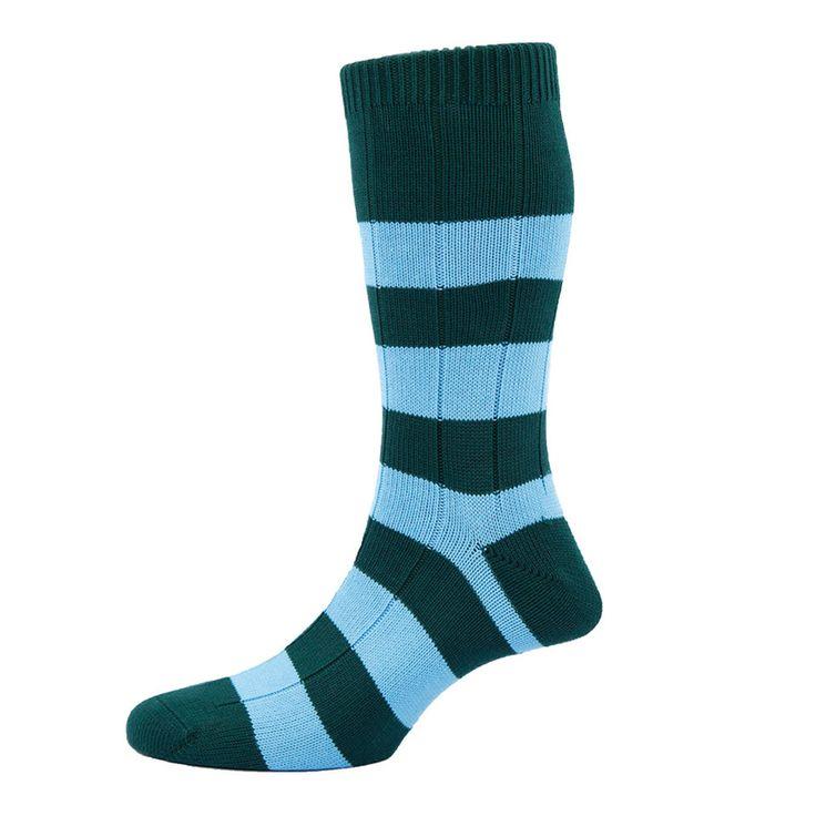 Cotton Ely Socks, Conifer