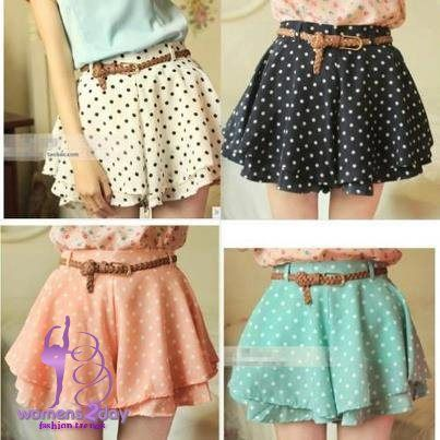 I like these skirts there cute