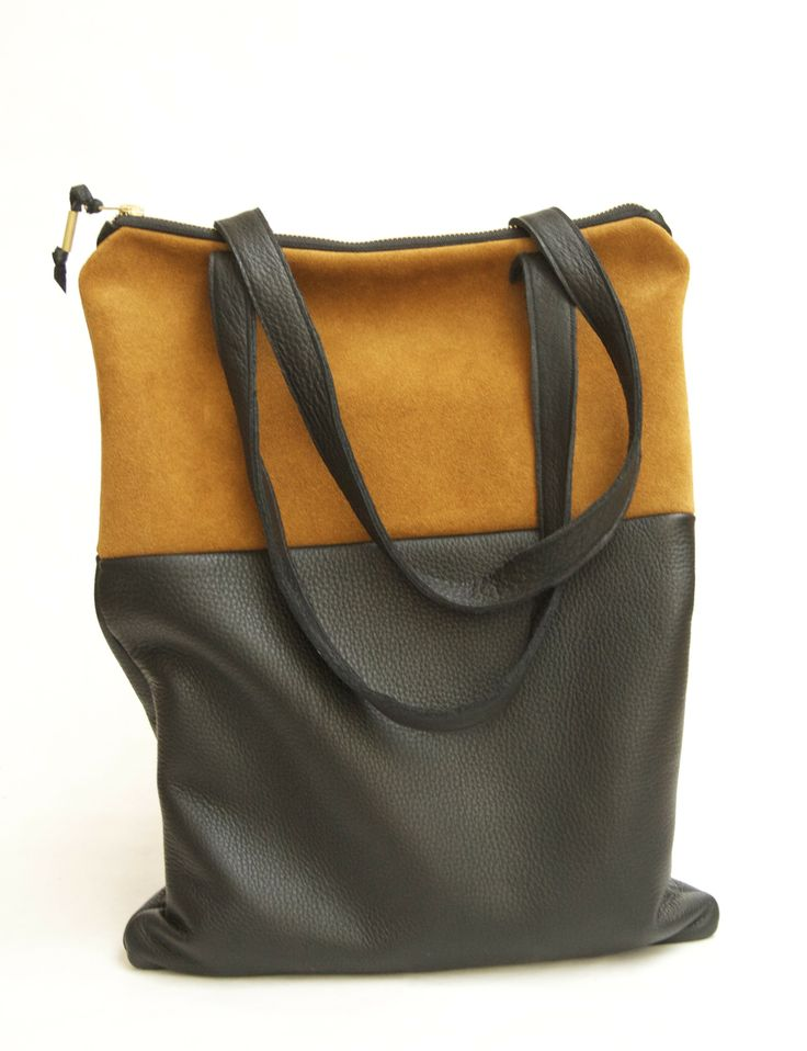 brika black and sand edge tote by btwn wind & water.