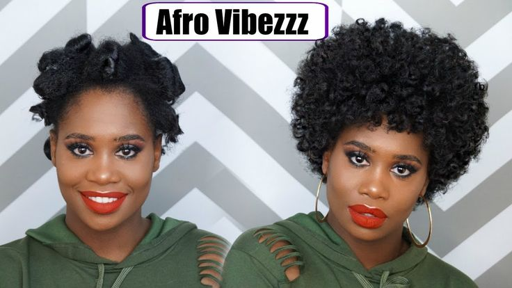 Big Curly Afro Tutorial [Video] - https://blackhairinformation.com/video-gallery/big-curly-afro-tutorial-video/