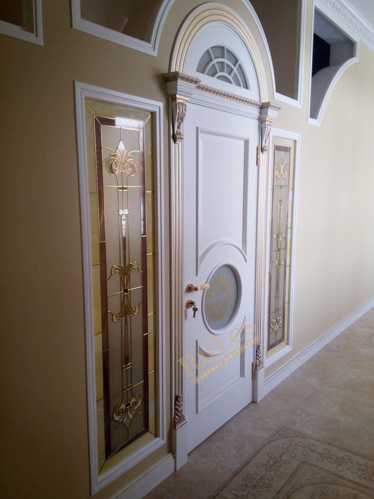 """Межкомнатная дверь """"Версаль"""" в интерьере #межкомнатные #двери #рулес #интерьер #дизайн"""