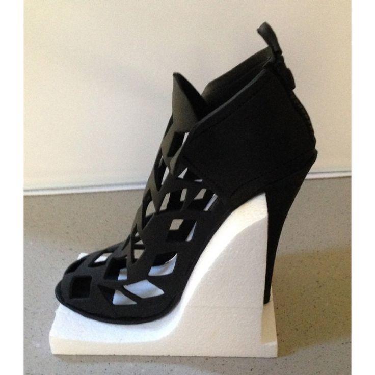 High Heel Shoe Cake Template cakepins.com