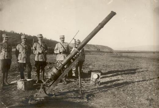 BU-F-01073-1-08753 Tun cu aer comprimat capturat la Caşin, 1917 (niv.Document)