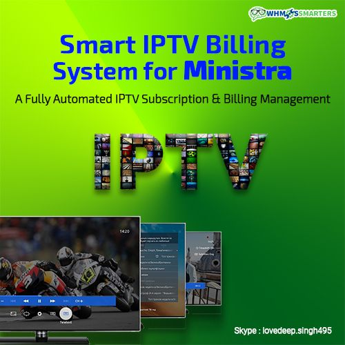 Pin by Whmcs Smarters on IPTV Billing Panel For Stalker