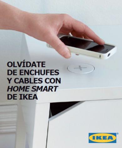 Home Smart de IKEA, muebles con cargador de móvil integrado - http://www.valenciablog.com/home-smart-de-ikea-muebles-con-cargador-de-movil-integrado/