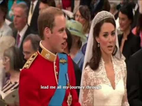 """Guide Me, O Thou Great Redeemer"" ~ Written by John Hughes (1873-1932). This was the first hymn sung by Prince William, Catherine Middleton and the congregation during their royal wedding."