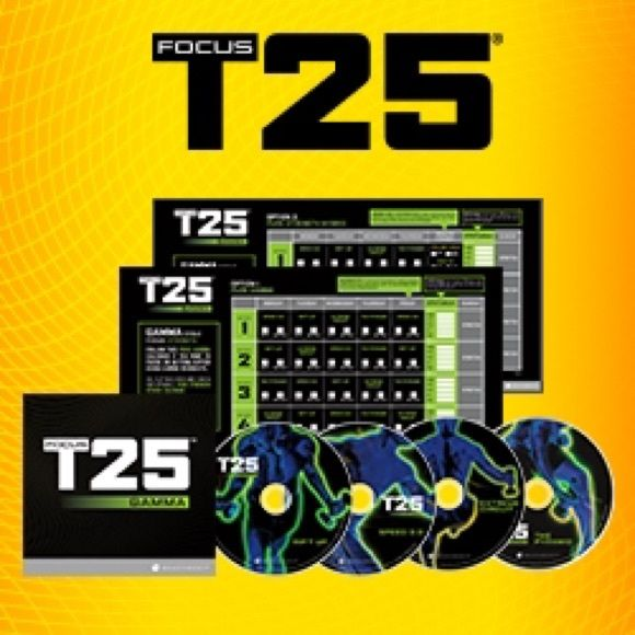 FOCUS T 25 GAMMA.  Includes all 4 Gamma DVD. FOCUS T25 GAMMA. Other With optimal health often comes clarity of thought. Click now to visit my blog for your free fitness solutions!