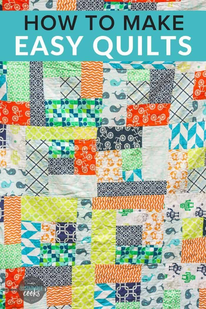 How To Make Simple Beginner Quilts In 2020 Quilting For Beginners Sewing Machine Quilting Quilts