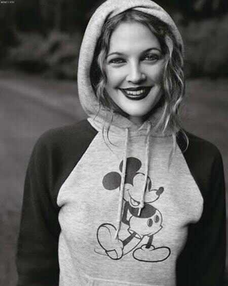 mickey mouse and drew barrymore
