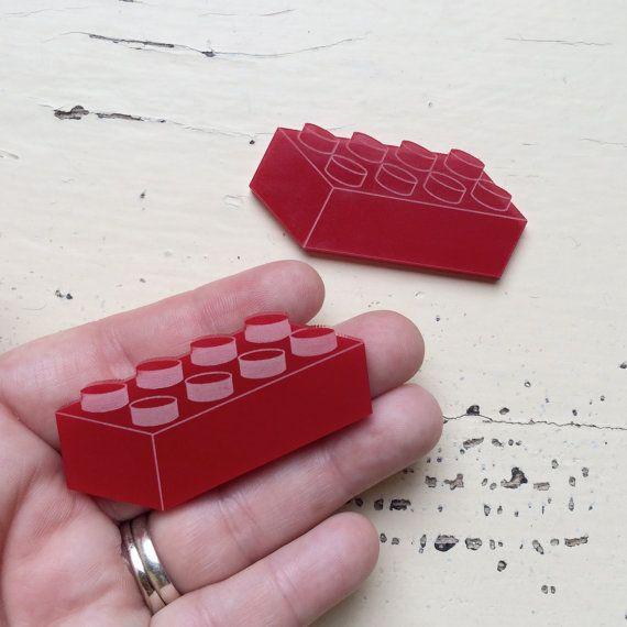 1 Plastic Block Acrylic Laser Cut Acrylic by CraftyCutsLaser