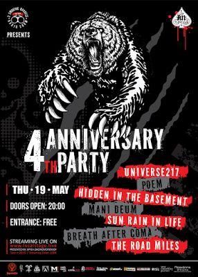 BEHIND THE VEIL WEBZINE BLOG: 2 SMOKING BARRELS RADIO SHOW 4th Anniversary Party...