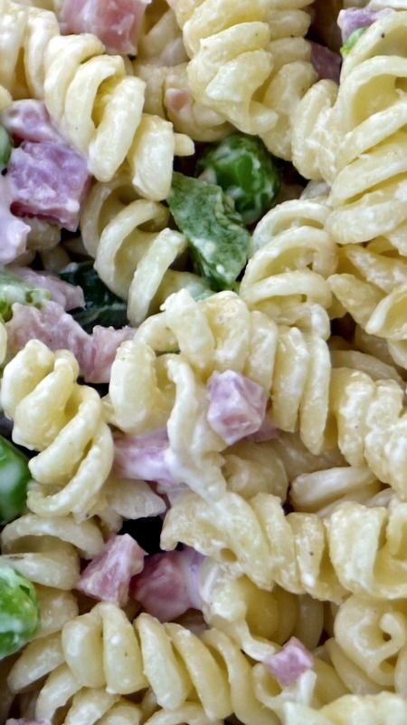 Copycat Ruby Tuesday Pasta Salad ~ A homemade version of Ruby Tuesday's pasta salad... Perfect for a summer party!