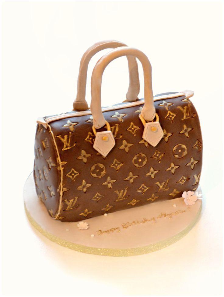 Louis Vuitton LV Speedy Handbag Cake Cherie Kelly London