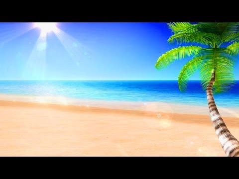 4 HOURS Ocean Waves on a Tropical Beach - Sleep Study Spa Relaxation - YouTube