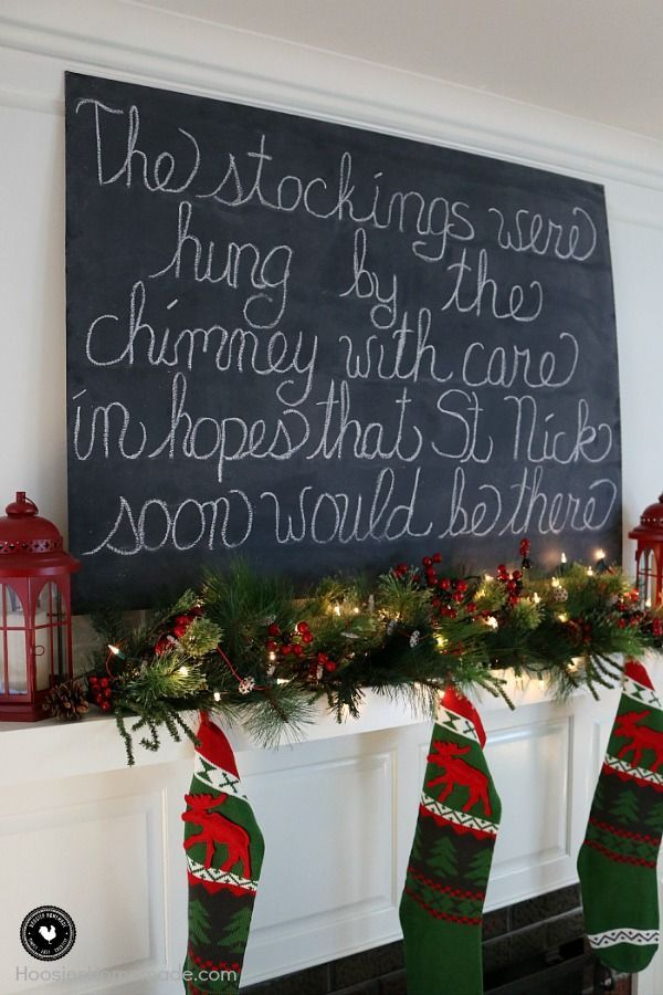 vintage christmas decorating twas the night before christmas pinterest vintage christmas decorating christmas mantels and saint nicholas - Twas The Night Before Christmas Decorating Ideas