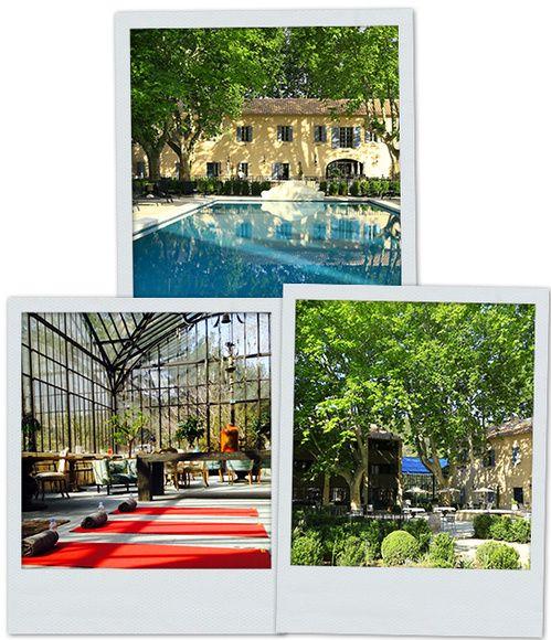 Workout & Detox à l'hôtel Domaine de Manville de Baux-de-Provence http://www.vogue.fr/vogue-hommes/beaute/diaporama/workout-detox-au-domaine-de-manville/20527
