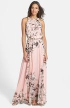 Free shipping and returns on Loveappella V-Neck Jersey Maxi Dress (Regular & Petite) at Nordstrom.com. Soft gathers atop the wide straps and on either side of the smooth waistband shape the plunging V-neck and ankle-grazing lightweight skirt of a lithe maxi dress cut from soft, supple jersey.