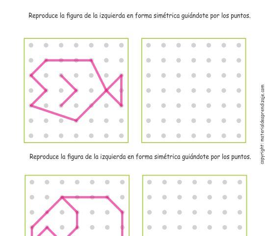 03 Trazos de simetría - Intermedio