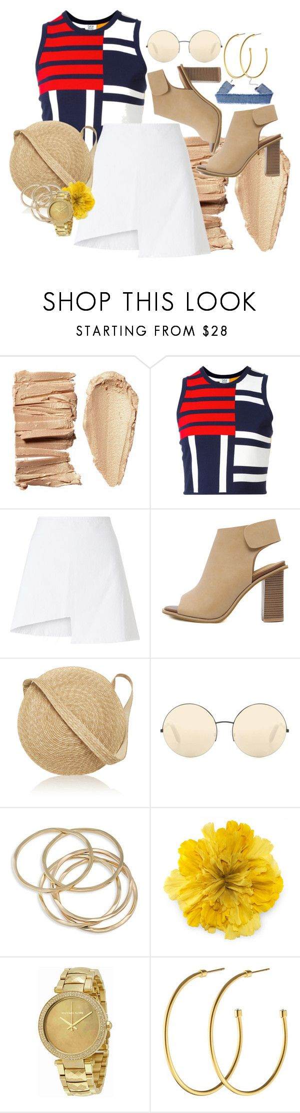 """Nautical Look"" by megmigomalley on Polyvore featuring Tommy Hilfiger, WÃ¥ven, Samuji, Victoria Beckham, ABS by Allen Schwartz, Gucci, Michael Kors and Dyrberg/Kern"
