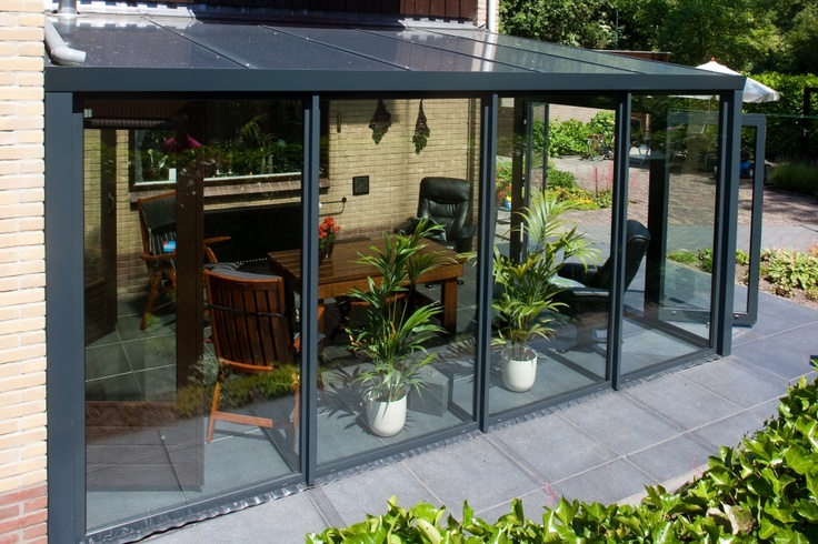 1000 ideas about verandas on pinterest veranda ideas cozy homes and outdoor candles - Overdekt terras in aluminium ...