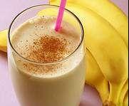 Bananen Milch Shake