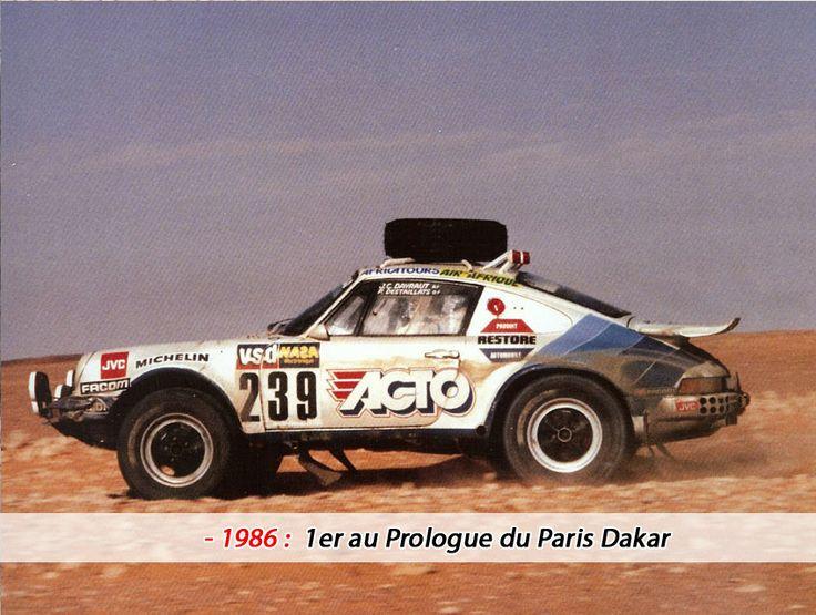 Paris Dakar 1986 Porsche 911 4 *4