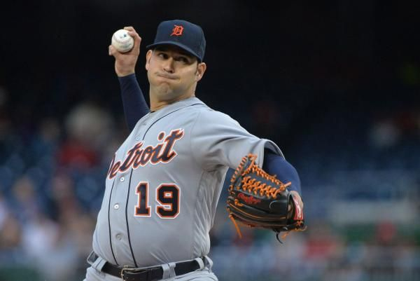 The Detroit Tigers have given up on right-hander Anibal Sanchez.