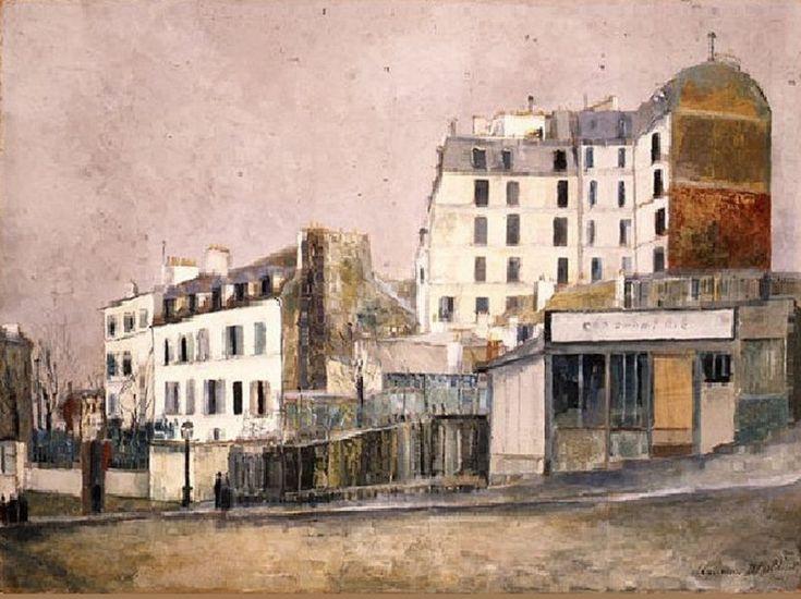 rue Ravignan - Maurice Utrillo - 1916