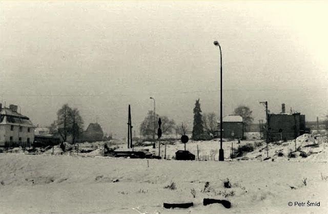 Zaniklá Pavlovská - Liboc