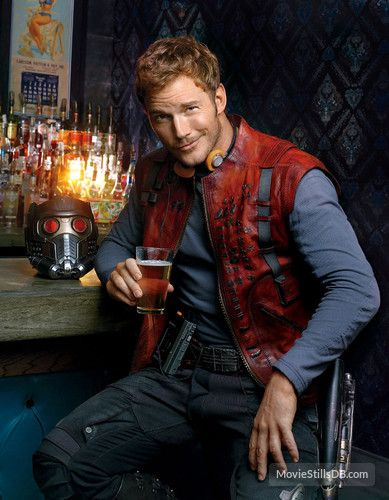 Guardians of the Galaxy promo shot of Chris Pratt