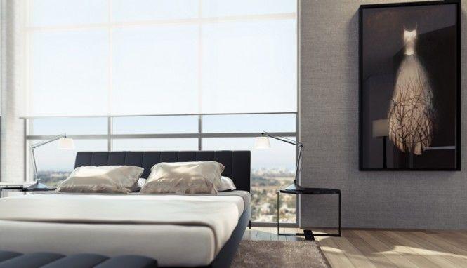 1 Gray bedroom scheme