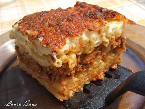 Pastitsio sau Lasagne de macaroane | Retete culinare cu Laura Sava