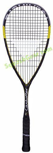 Tecnifibre Carboflex 125 Basaltex Squash Racket, Tecnifibre DNAMX 17g Strings  Carboflex,DNAMX strings